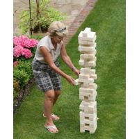 Giant Tumble Tower - Hardwood
