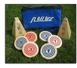 Wooden Rollors Game