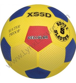 Cellular Dimpled Soccer Ball Yellow Size 5