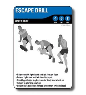 FitDeck Combat Sports Exercise Cards