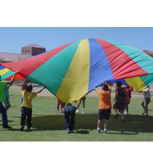 Multi Colored Play Parachute