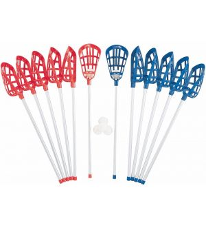 Soft Toss Lacrosse Sticks Set